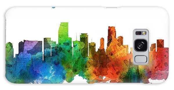 Miami Florida 25 Galaxy Case by Aged Pixel