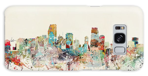 Florida Galaxy Case - Miami Florida City Skyline by Bri Buckley
