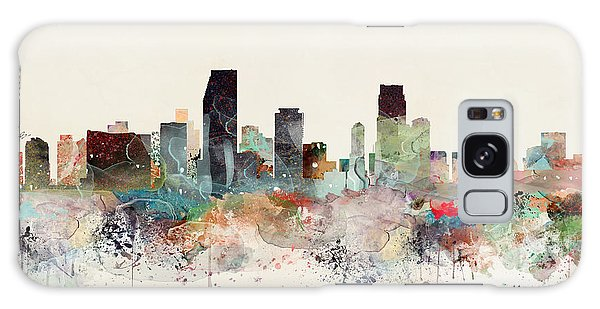 Florida Galaxy Case - Miami Florida Skyline by Bri Buckley
