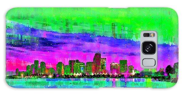 Miami Skyline 144 - Pa Galaxy Case