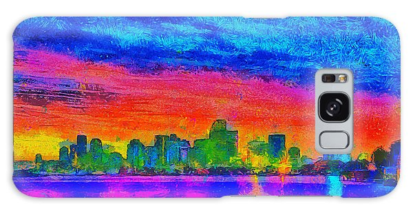 Miami Skyline 160 - Da Galaxy Case