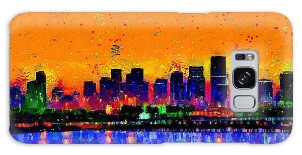 Miami Skyline 24 - Da Galaxy Case