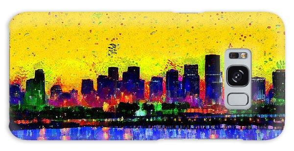 Miami Skyline 25 - Da Galaxy Case