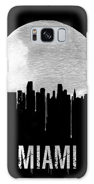 Florida Galaxy Case - Miami Skyline Black by Naxart Studio