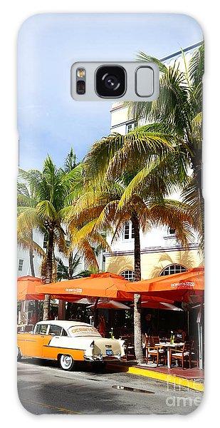 Miami South Beach Ocean Drive 8 Galaxy Case by Nina Prommer