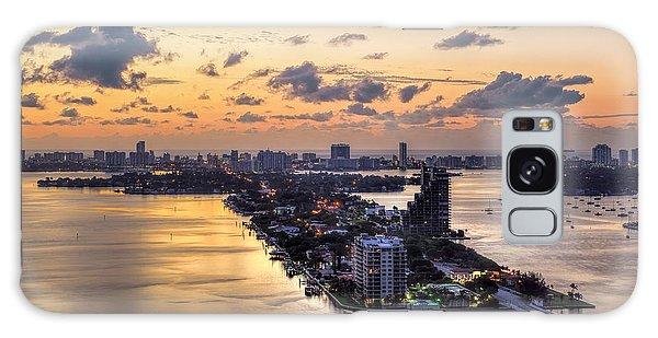 Miami Sunrise Galaxy Case