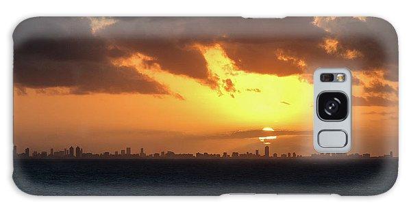 Miami Sunset Galaxy Case