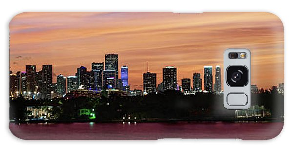Miami Sunset Panorama Galaxy Case