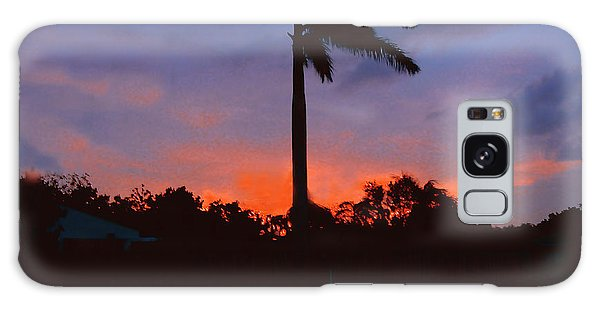 Miami Sunset Galaxy Case