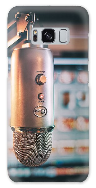 Indoors Galaxy Case - Mic Check 1 2 3 by Scott Norris