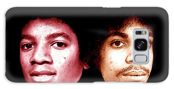 Michael And Prince In One Galaxy Case