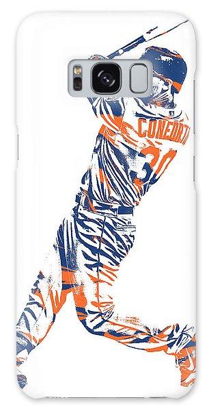 New York Mets Galaxy Case - Michael Conforto New York Mets Pixel Art 1 by Joe Hamilton