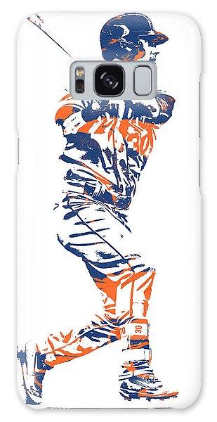New York Mets Galaxy Case - Michael Conforto New York Mets Pixel Art 2 by Joe Hamilton