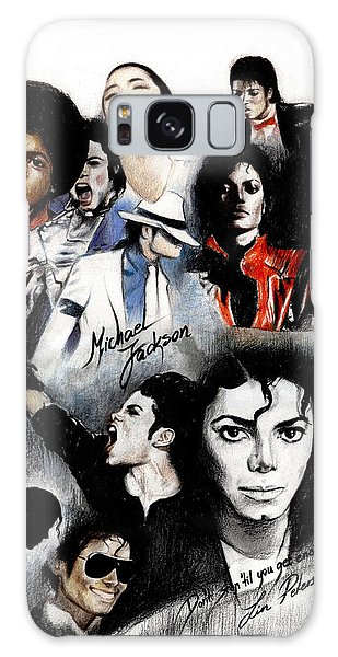 Michael Jackson - King Of Pop Galaxy Case