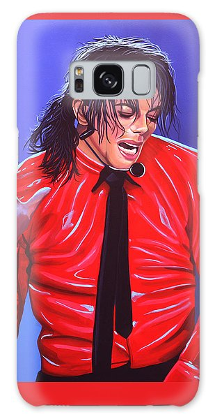 Michael Jackson 2 Galaxy S8 Case