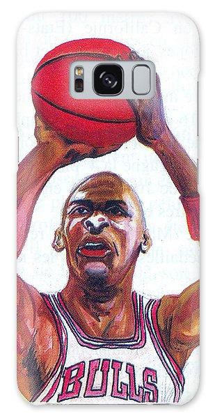 Michael Jordan Galaxy Case by Emmanuel Baliyanga