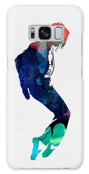 Michael Watercolor Galaxy Case
