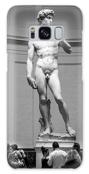 Michelangelo's David Galaxy Case by Sonny Marcyan