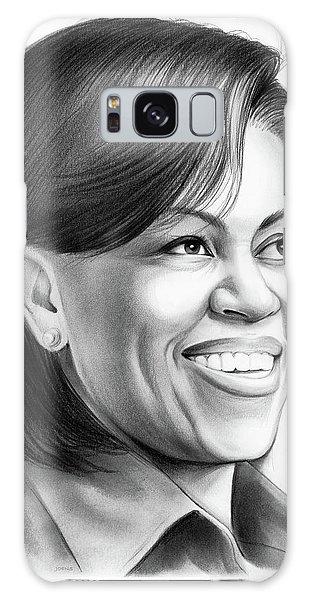 Barack Obama Galaxy Case - Michelle Obama by Greg Joens