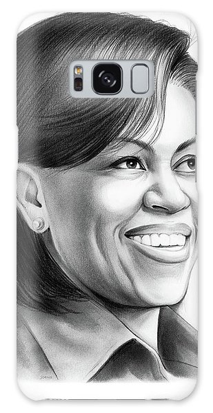 Barack Obama Galaxy Case - Michelle Obama by Greg Joens