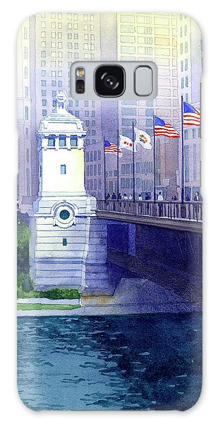Michigan Avenue Bridge Galaxy Case