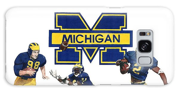Michigan Heismans Galaxy Case