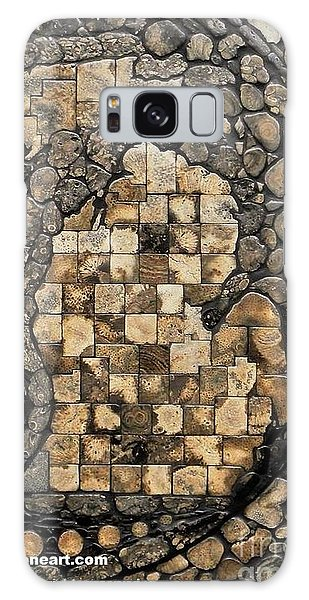 Stone Galaxy Case - Michigan Petoskey Stone by Randall Libby