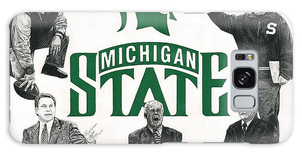 Michigan State Coaching Legends Galaxy Case