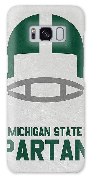 March Galaxy Case - Michigan State Spartans Vintage Art by Joe Hamilton