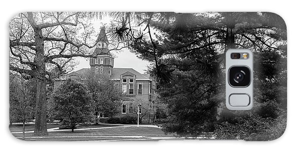 Michigan State University Campus Black And White  Galaxy Case by John McGraw