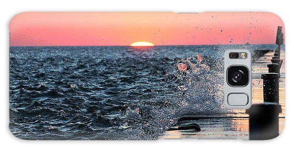 Michigan Summer Sunset Galaxy Case