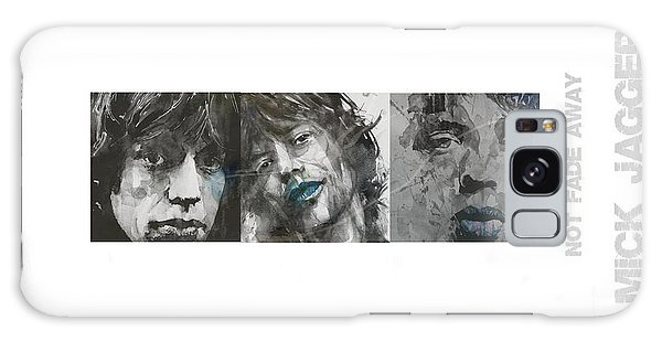 Rolling Stone Magazine Galaxy S8 Case - Mick Jagger Triptych by Paul Lovering