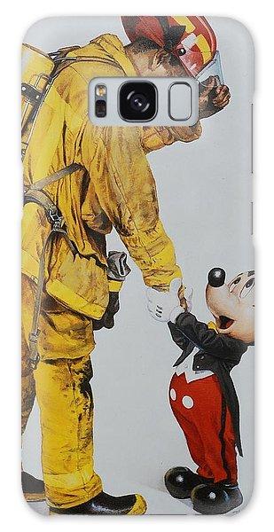 Walt Disney Galaxy Case - Mickey And The Bravest by Rob Hans
