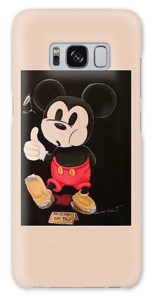 Mickey On Tap Galaxy Case by Susan Roberts