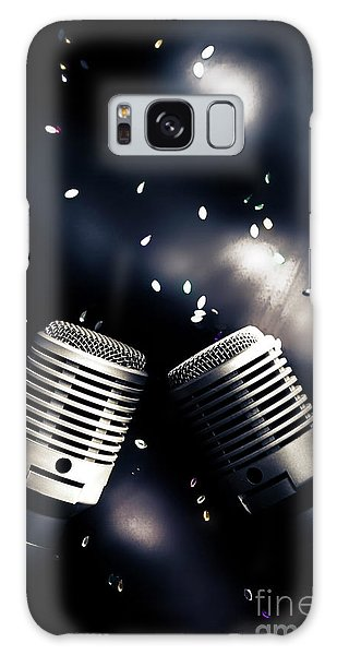 Rock Music Galaxy Case - Microphone Club by Jorgo Photography - Wall Art Gallery