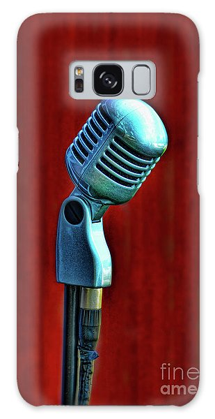 Microphone Galaxy Case