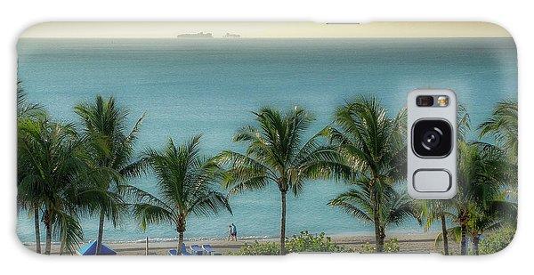 Mid-beach Miami-2 Galaxy Case