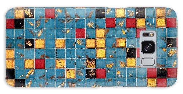 Mid Century Tiles Galaxy Case by Christopher Woods