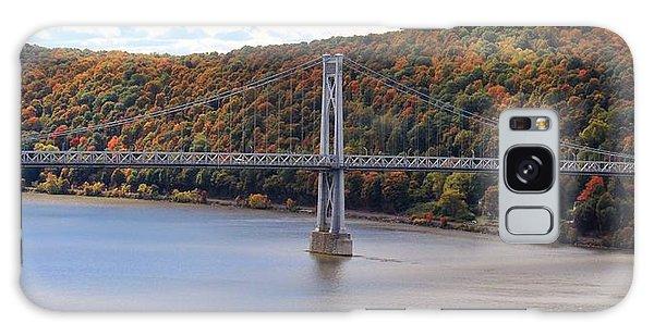 Mid Hudson Bridge In Autumn Galaxy Case