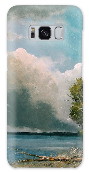 Midday Clouds Galaxy Case