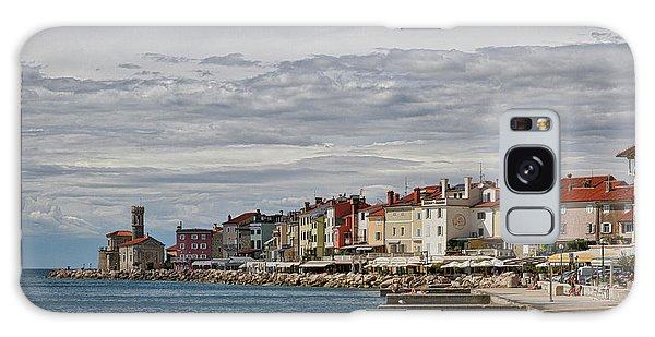 Galaxy Case featuring the photograph Midday In Piran - Slovenia by Stuart Litoff