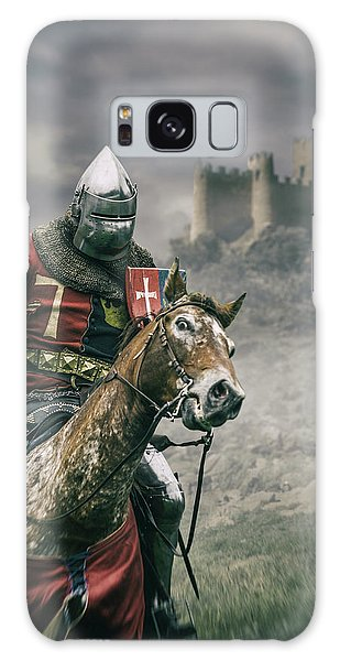 Front Galaxy Case - Middle Ages Knight by Carlos Caetano