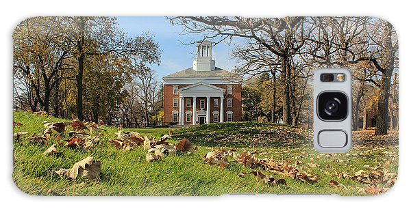 Middle College On An Autumn Day Galaxy Case