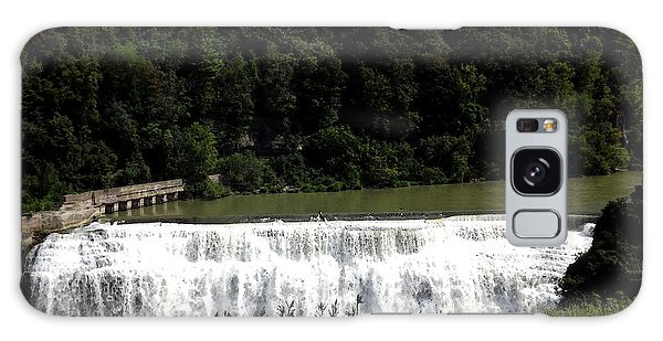 Galaxy Case featuring the photograph Middle Falls In Rochester New York by Rose Santuci-Sofranko