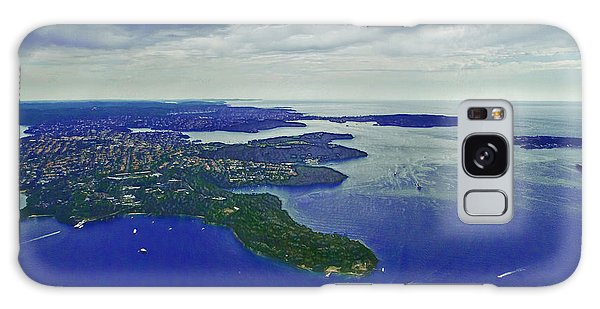 Middle Head And Sydney Harbour Galaxy Case