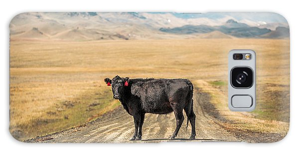 Cow Galaxy Case - Middle Of The Road by Todd Klassy