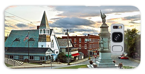 Middlebury Vermont At Sunset Galaxy Case