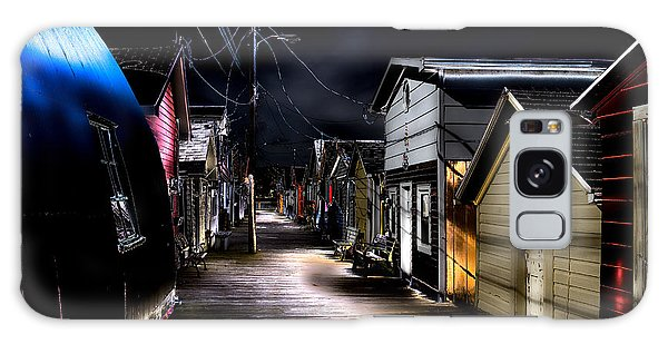Midnight At The Boathouse Galaxy Case