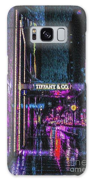 Midnight At Tiffany Painting Galaxy Case