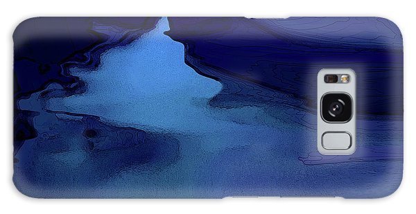 Midnight Blue Galaxy Case